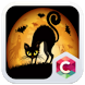 Black Cat Halloween Theme by Best theme workshop
