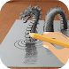 How to Draw 3D by Manishdev
