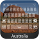 Australia Keyboard Theme by Styles Keyboard Forever