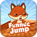 Fennec Fox Jump by ZAHRAGAMES Studio