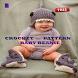 Crochet Pattern Baby Beanie by newerica