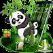 Cartoon Panda 3D Theme by 3D Themes World