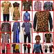 Batik Men's Shirt Design by Kangodi