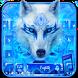 Blue Ice Wolf - Music Keyboard Theme by Luxury Keyboard Theme