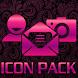 ICON PACK PINK METAL THEME by Tak Team Studio