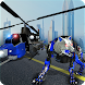 Air Force Transform Robot Cop Wolf Helicopter Game by Kick Time Studios