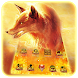Fire Ice Wolf 3D Theme