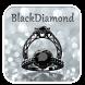 Black Diamond Glitter Theme by creative 3D Themes
