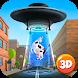 Cartoon Alien UFO Simulator 3D by Cartoon World Games