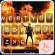 Live 3D Fire Flame Keyboard Theme by Fashion Cute Emoji