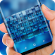 Blue square matrix Keyboard by Sexy Theme for Smart Phone