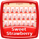Strawberry Keyboard Theme by Dev Themes