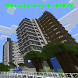 Modern city map for minecraft