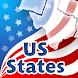 50 US States Quiz by Paridae