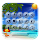 Tropical Keyboard With Beach Paradise Summer Theme by Cool Keyboard Themes For Android