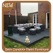 Best Outdoor Patio Furniture Ideas by GoDream Studio