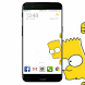 Bart S Wallpaper by Antidimentia