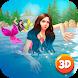 Diving Mermaid Swimming Race by Cartoon World Games
