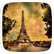 Gold Eiffel Tower Paris by Heartful Theme