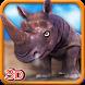 Angry Rhino Simulator 3D by Gamerz Studio Inc.
