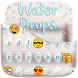 Water Drops Keyboard Theme by Golden Studio