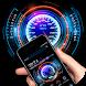 Neon Racing Car Hologram Tech by Dream world