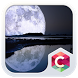Big Full Moon CLauncher Theme by CG-Live-Wallpapers