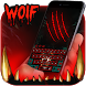 Night Wolf Blood King Keypad by Ajit Tikone