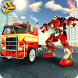 Flying Robot FireFighter Futuristic Transformation by The Game Feast