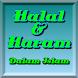 Halal Dan Haram Dalam Islam by islam4all