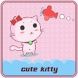 Cute Kitty Cartoon Pink Theme by Best theme workshop