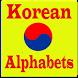 Korean Alphabets by Tafawok Studio