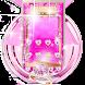 Pink Perfume Bottle Diamond Themes by Kitty Theme