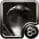 GO Launcher theme Black Cobra by Maystarwerk Clocks & Themes Vol.2