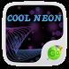Cool Neon GO Keyboard Theme by GO Keyboard Dev Team