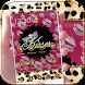Gold Leopard Kiss Lips Theme by MT Digits