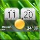 MIUI Digital Weather Clock by Factory Widgets