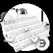 Mechanical silver white cool keyboard by Bestheme Keyboard Designer