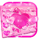 Lovely pink Keyboard by 3D / Animated Keyboard Themes