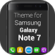 Theme and Launcher for Galaxy Note 7 by Innovative Technology