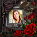 Rose Photo Frame by bubbles app
