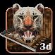 3D Neon Cheetah Theme by 3D Themes World