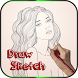Learn to Draw Face Sketch by Byte Tech Solution