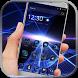 Blue technology business by BeautifyStudio