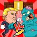 Trump vs. Zombie by ChongJ Design Inc.