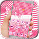 Cute Pink Kitty Bowknot by HD wallpaper and theme