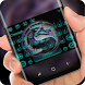 3d blue dragon keyboard by Sexy Theme for Smart Phone