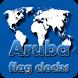 Aruba flag clocks by modo lab