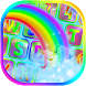 Rainbow Keyboard Theme App by True Fluffy Apps and Games