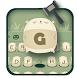 Green cute cartoon Whac-A-Mole game keyboard theme by Brandon Buchner